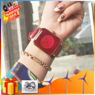 Đồng hồ nữ dây da GUOU A45 TREND 2020 đồng hồ nữ thời trang cho phái đẹp thumbnail