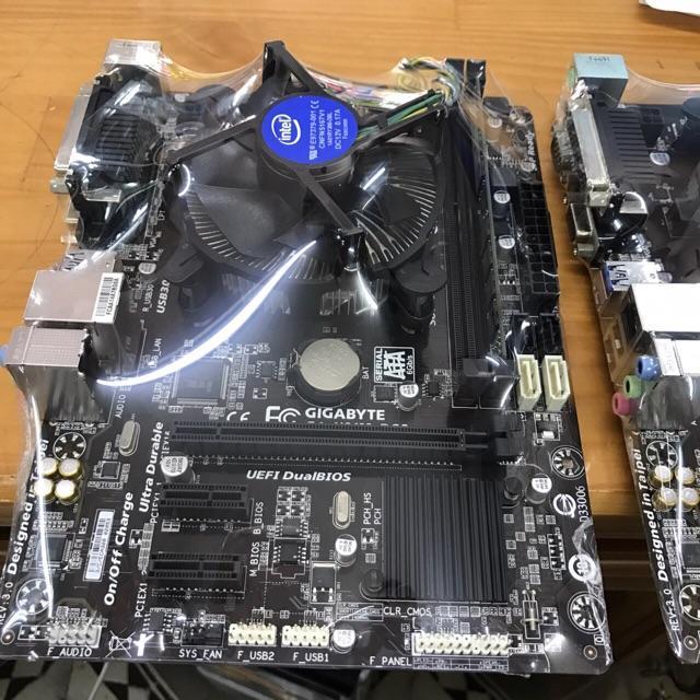 COMBO main giga H81+I5-4570+Ram 8G+Fan zin