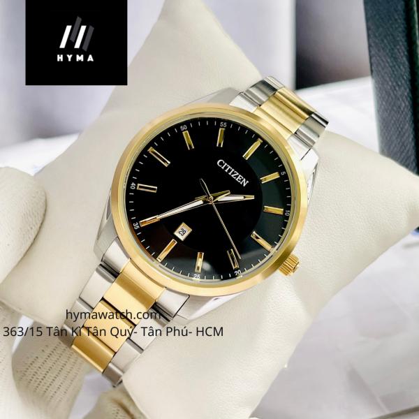 Đồng hồ nam dây thép Citizen BI1034-52E bảo hành 1 năm hyma watch