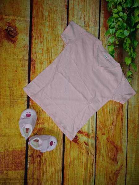 Áo thun trơn tay ngắn vải xước cho bé trai và bé gái mềm, thoáng mát (màu ngẫu nhiên)