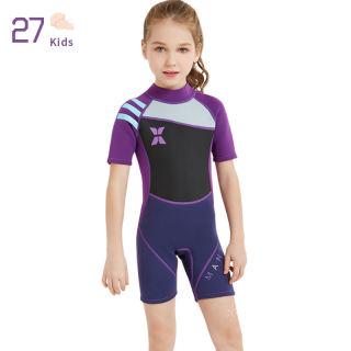 27 Đồ Bơi Trẻ Em Bé Gái, Đồ Bơi Ngắn Tay Cho Trẻ Sơ Sinh Áo Liền Quần Co Giãn Cao Cho Trẻ Em, Đồ Đi Biển