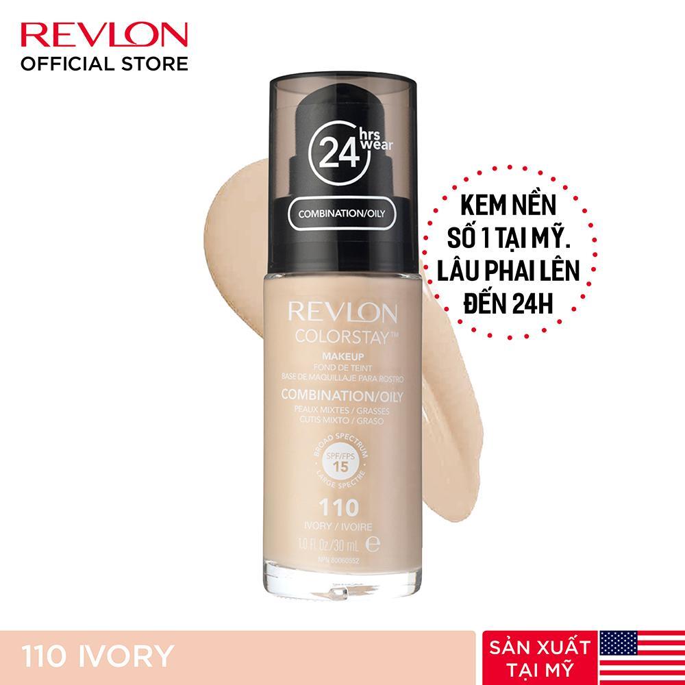 Kem nền lâu phai Revlon Colorstay 24h SPF 15 30ml tốt nhất