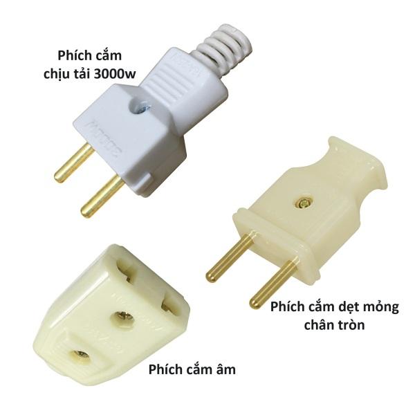 10 Phích cắm điện chịu tải đực cái âm nối dài thông dụng theo lựa chọn Plug-Sock-xx