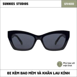 Kính mát Sunnies Studios Gọng Mắt Mèo Lexa in Ink thumbnail