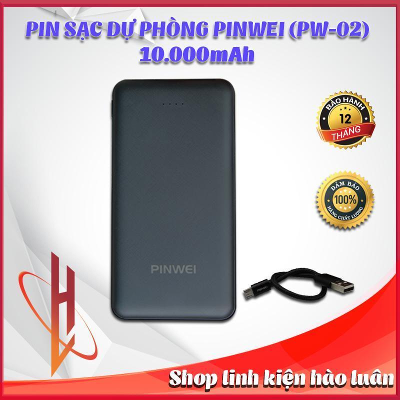 Giá Pin sạc dự phòng Pinwei (PW-02) 10000mAh - Chuẩn dung lượng