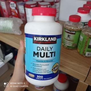 Viên Uống Bổ Sung Vitamin Tổng Hợp Kirkland Signature Daily Multi 500 Viên Mỹ 01 22 thumbnail