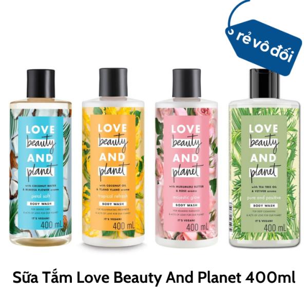 Sữa tắm Love Beauty And Planet 400ml - Hàng công ty giá rẻ