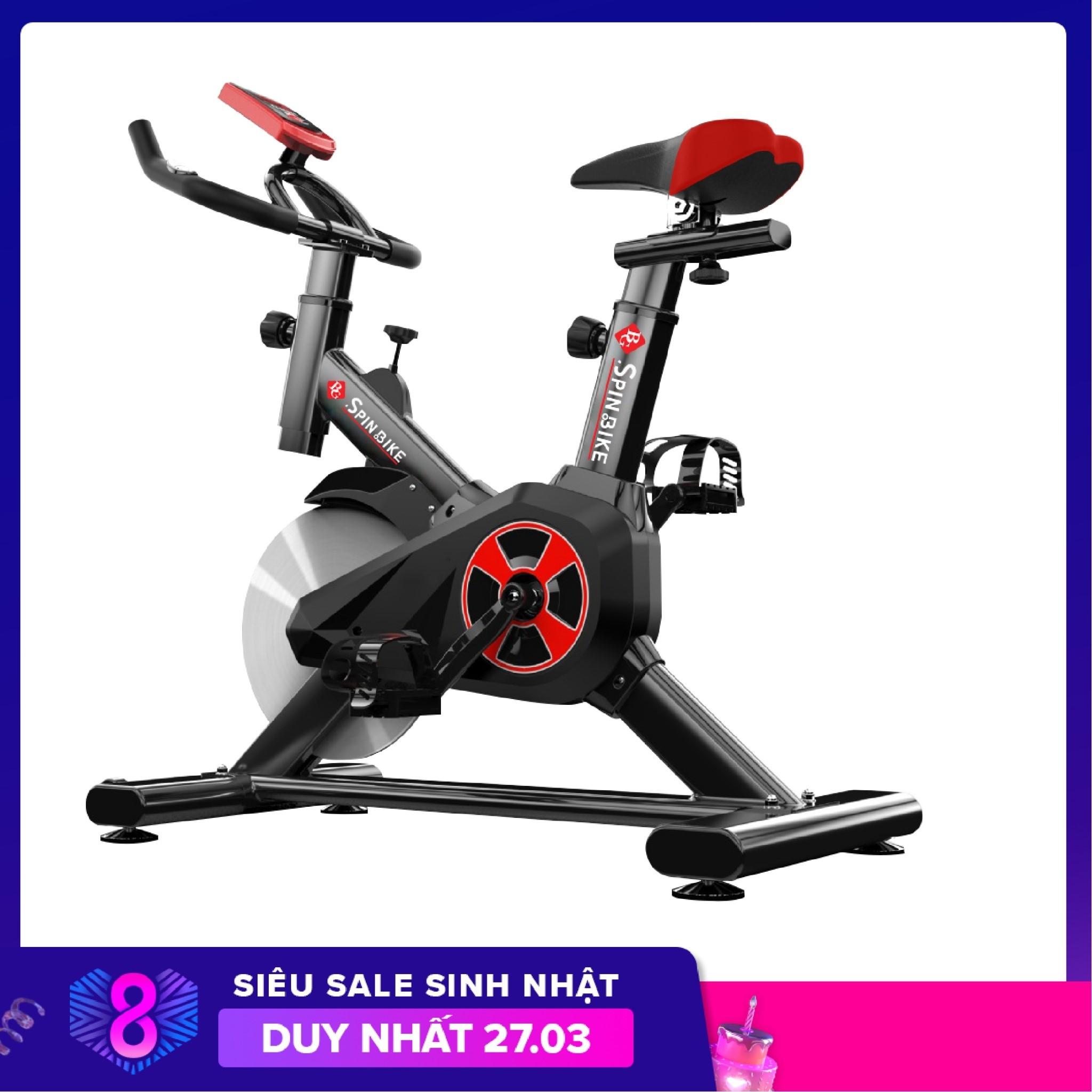 Bảng giá GYM - Xe đạp tập thể dục thể thao mẫu mới S303 mới hót màu đen