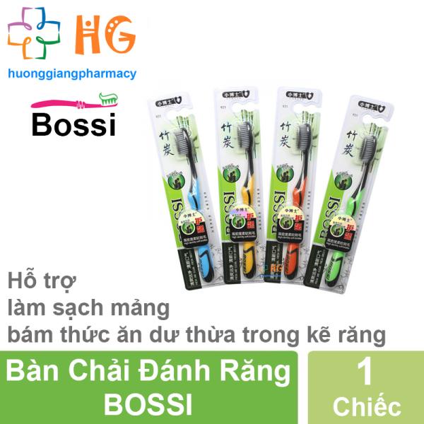 Bàn chải đánh răng than tre hoạt tính BOSSI NO921 - Hàn Quốc (Không Chọn Mầu) giá rẻ