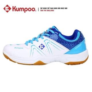 Giày Cầu Lông Kumpoo KH16 - Màu Xanh Trắng thumbnail