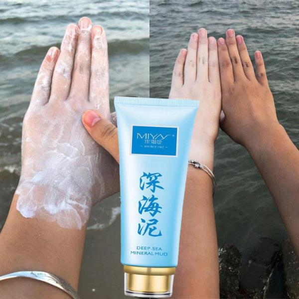 Kem làm trắng da chiết xuất bùn biển thiên nhiên chăm sóc da dưỡng trắng da mặt cấp ẩm Whitening Moisturizing
