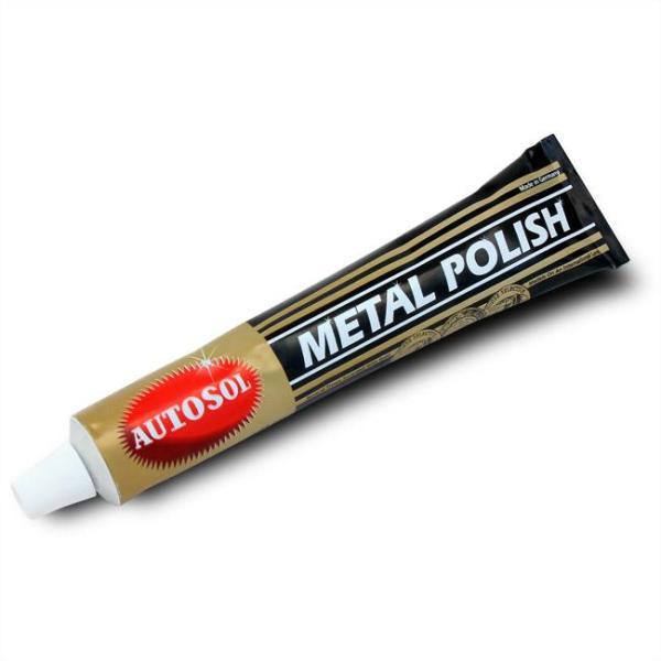 Kem Đánh Bóng Kim Loại Metal Polish 50gr làm sáng như mới kim loại như nhôm, đồng, kẽm, inox, crôm