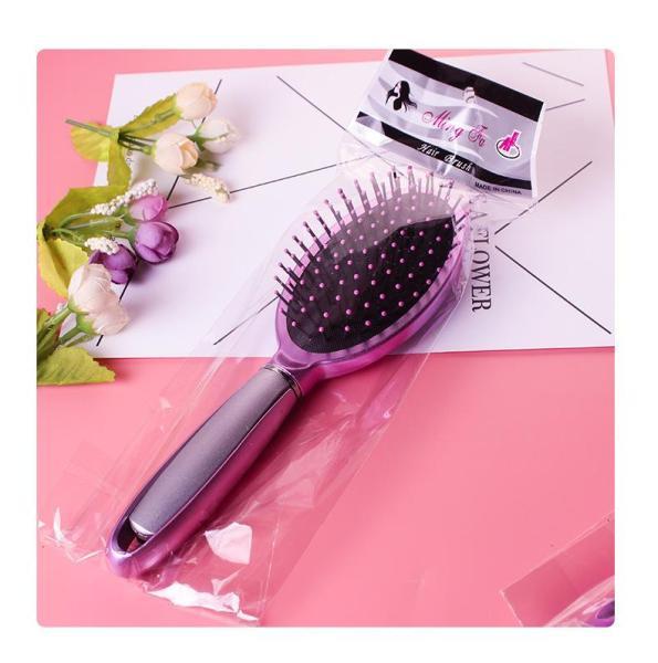 Lược chải tóc ướt, rỡ rối và massage da đầu tiện dụng hồng