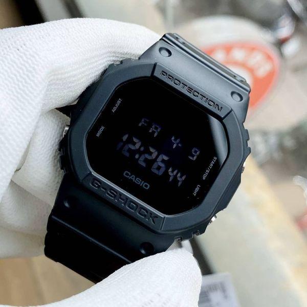 Đồng Hồ Nam Casio Gshock Dw-5600BB –Chống Nước, Nam Tính, 42Mm, Đen Huyền Ảo Full Box - Lux.watch bán chạy