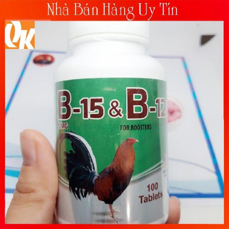 B15 B12 Hộp 20 Viên Dinh Dưỡng Cao Cấp Cho Gà Đá Tăng Bo Tải Cựa