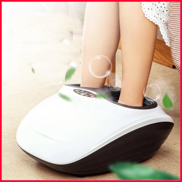 Máy massage chân lòng bàn chân Sauron Hàn Quốc, Máy massage chân model mới nhất, Massage Bấm Huyệt xoa bóp đa chiều, màn hình LED có remote chính hãng, hệ thống sưởi và bấm huyệt bên trong túi khí