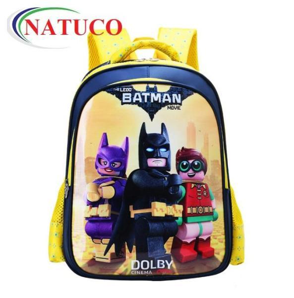 Ba lô siêu anh hùng cho bé mẫu giáo, học sinh cấp 1 siêu nhẹ, chống thấm nước