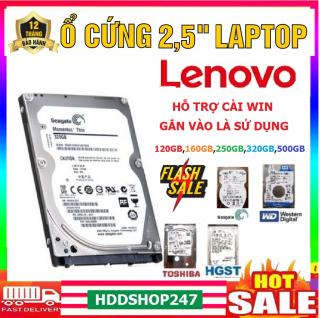 Ổ cứng hdd 2.5 laptop IBM-LENOVO tháo máy bh 12 tháng 500GB,320GB,250GB,160GB,120GB thumbnail