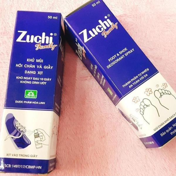 Combo 2 Chai Xịt Khử Mùi Giầy Zuchi