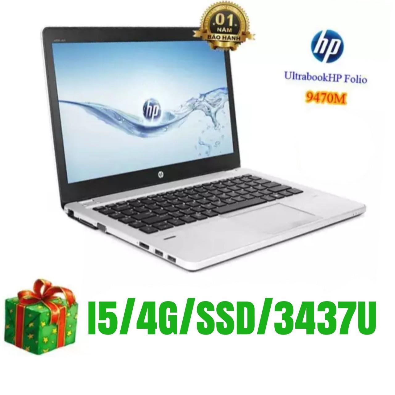 Hp 9470 TRẮNG, MỎNG, NHẸ ĐẸP, VỎ NHÔM TOÀN THÂN SIÊU BỀN, Ổ CỨNG SSD