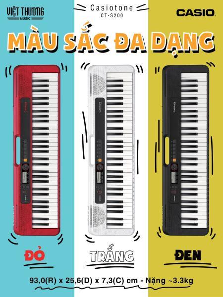 Organ Casio CT-S200 - Việt Thương Music