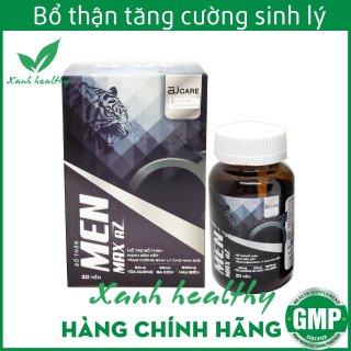 Viên uống bổ thận MEN MAX AZ- Thành phần từ Hàu biển, ba kích, tỏa dương giúp tăng cường sinh lý nam giới hiệu quả, an toàn - hộp 30 viên thumbnail