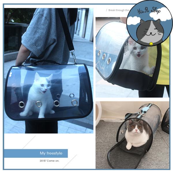 Túi Vận Chuyển Chó Mèo Trong Suốt