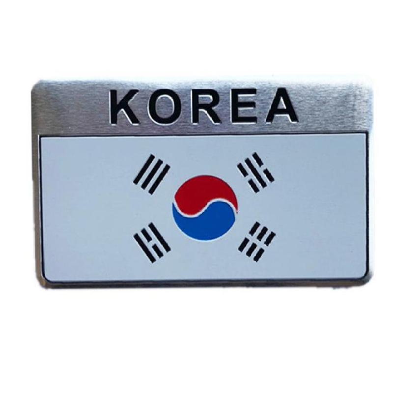 Miếng dán kim loại CỜ KOREA