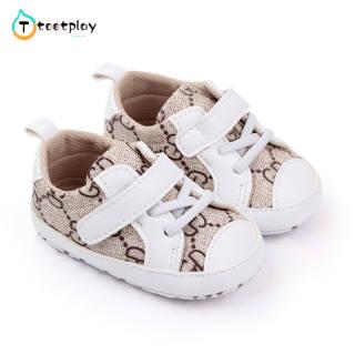 Tootplay Giày Em Bé Sơ Sinh, Thời Trang Mềm Mại Giày Chập Chững Biết Đi Giày, Giày Thể Thao Chống Trượt