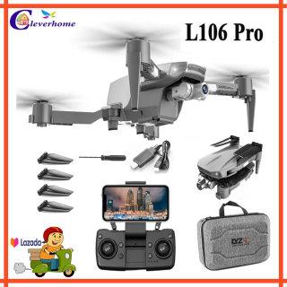 Máy Bay Flycam 4k Giá Rẻ Động Cơ Không Chổi Than, Drone Mini Camera Có Gimbal Chống Rung, Flycam L106 Pro Chất Lượng Tương Đương Mavic Mini 2 thumbnail