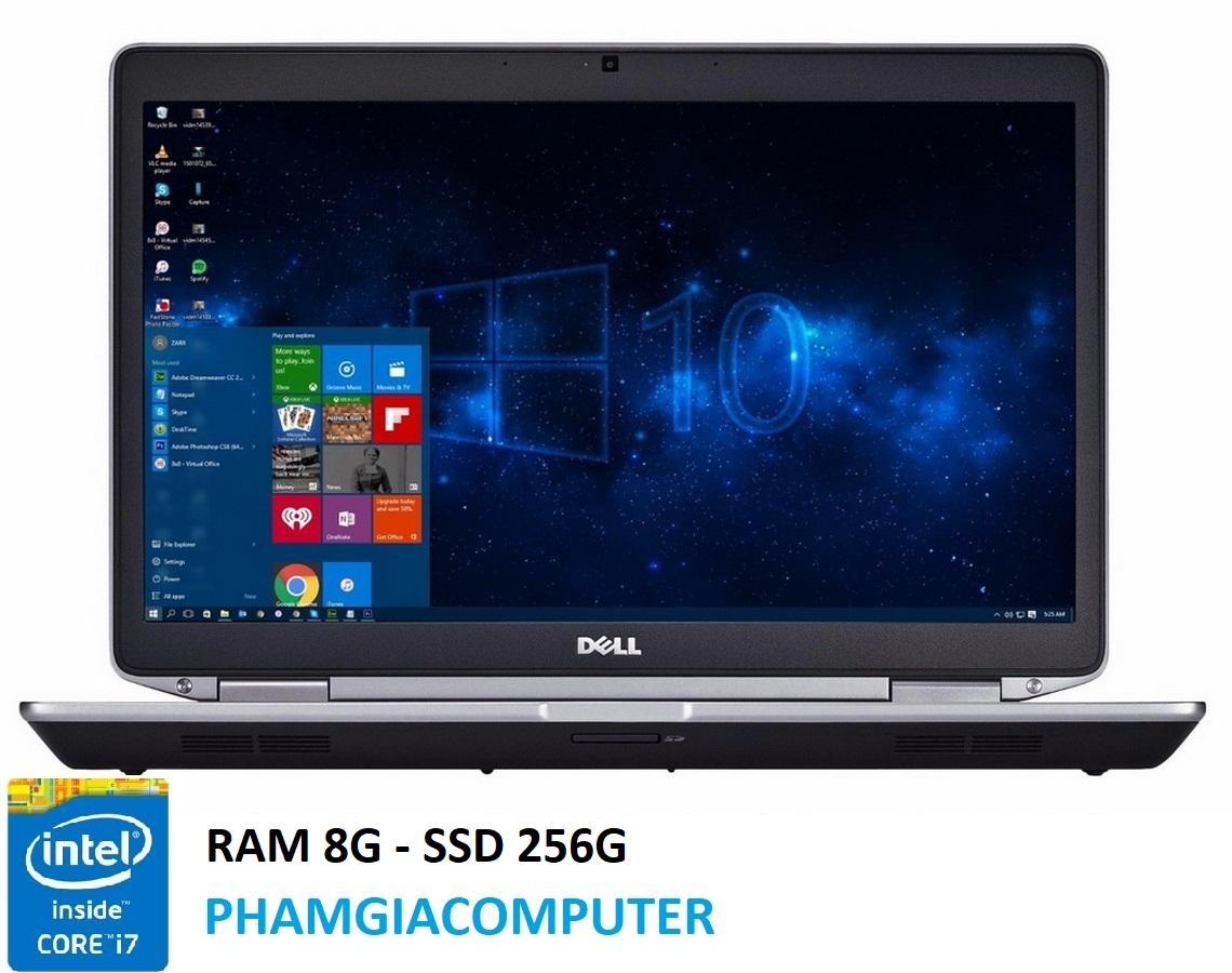 Laptop Dell Latitude E6430 Core i7 3520M Ram 8G SSD 256G 14in Chơi Game Đồ họa- Hàng nhập khẩu- Tặng Balo, chuột không dây