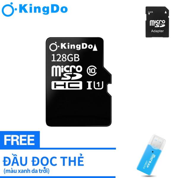 【Miễn phí Đầu đọc thẻ】Thẻ nhớ Micro SDHC128GB class 10 bảo hành 3 tháng lỗi 1 đổi 1 + Tặng kèm adapter