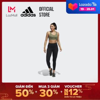 adidas TRAINING Áo ngực thể thao Stronger For It Alpha chắc chắn Nữ Màu xanh lá GC7719 thumbnail