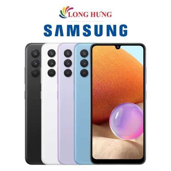 [Trả góp 0%] Điện thoại Samsung Galaxy A32 (6GB/128GB) - Hàng chính hãng - Màn hình 6.4inch Super AMOLED FHD+ bộ 4 Camera sau Pin 5000mAh