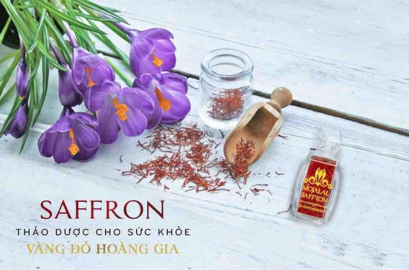 Saffron - Vị Thần Sắc Đẹp - Trị Mất Ngủ - Nhuỵ Hoa Nghệ Tây Chính Hãng Mojalal cao cấp