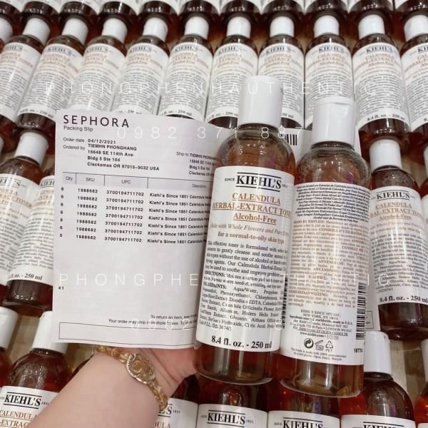 Nước hoa hồng KIEHLS Calendula Herbal Extract Alcohol-Free Toner nhập khẩu