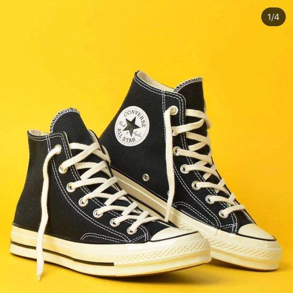 Giày Converse cao cổ 1970s màu đen ( Tặng Túi converse + Tặng tất +bill)