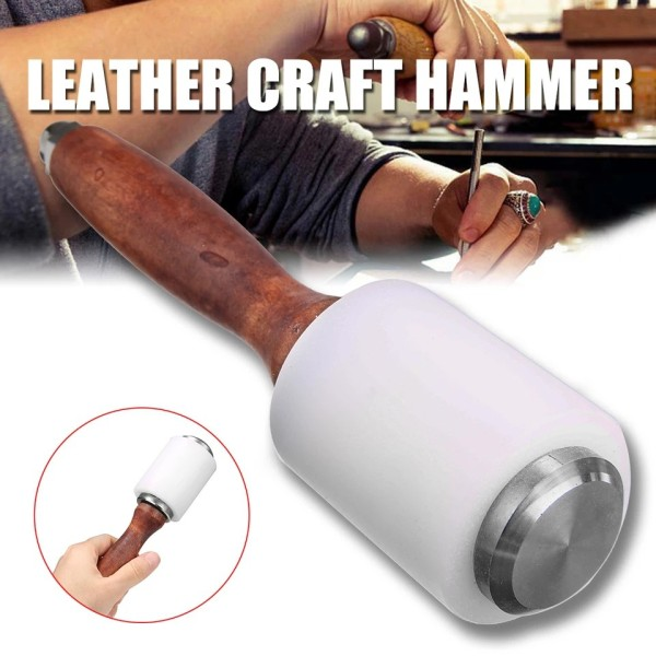 Búa nhựa cao cấp chuyên chế tác đồ da thủ công - Bộ dụng cụ làm đồ da thủ công