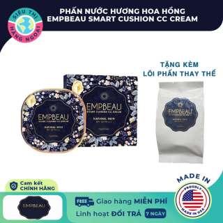 [HCM]Phấn Nước Empbeau Smart Cushion CC Cream - Tặng lõi phấn Empbeau Smart Cushion [Bền màu cao dưỡng ẩm cho da hương thơm tự nhiên phù hợp mọi loại da] Hàng MỸ (được bán bởi Siêu Thị Hàng Ngoại) thumbnail