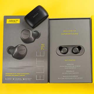 TAI NGE - tai nghe bluetooth - Tai Nghe Không Dây Jabra Elite 75t - Tai nghe Bluetooth True Wireless Jabra Elite 75T Đen Titanium siêu Bass, chống bụi, chống nước, đàm thoại hai chiều ,lọc âm cực tốt với 4micro bảo hành 12 tháng thumbnail