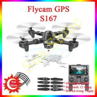 Drone camera G.P.S, Flycam s167 máy bay điều không người lái điều khiển từ xa quay phim chụp ảnh tầm bay 600m thumbnail
