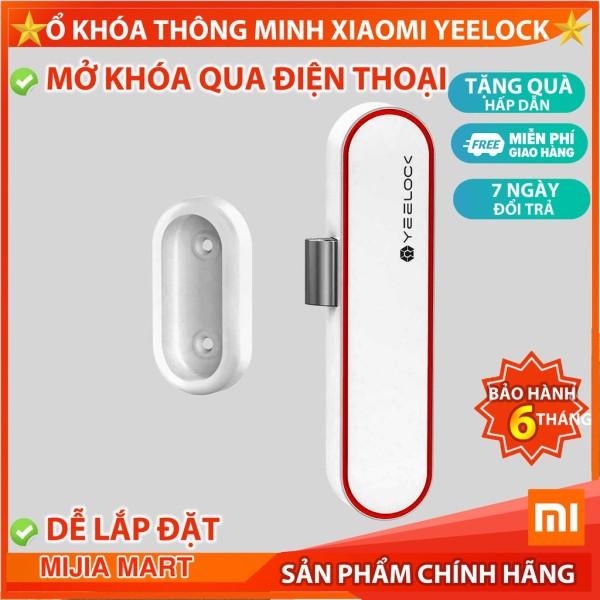 ✅Ổ khóa thông minh Xiaomi Yeelock. Khóa tủ kết nối bluetooth mở khóa qua điện thoại.