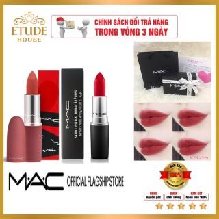 [Chính Hãng] Son môi lì MAC Powder Kiss Lipstick 3g [Phiên bản giới hạn] hót 2021 thumbnail