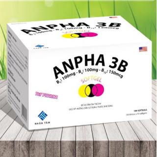 Viên Uống Bổ Sung Vitamin Anpha 3B- Giúp Bổ Sung Các Axit Amin Thiết Yếu. Giảm Đau Trong Đau Dây Thần Kinh thumbnail