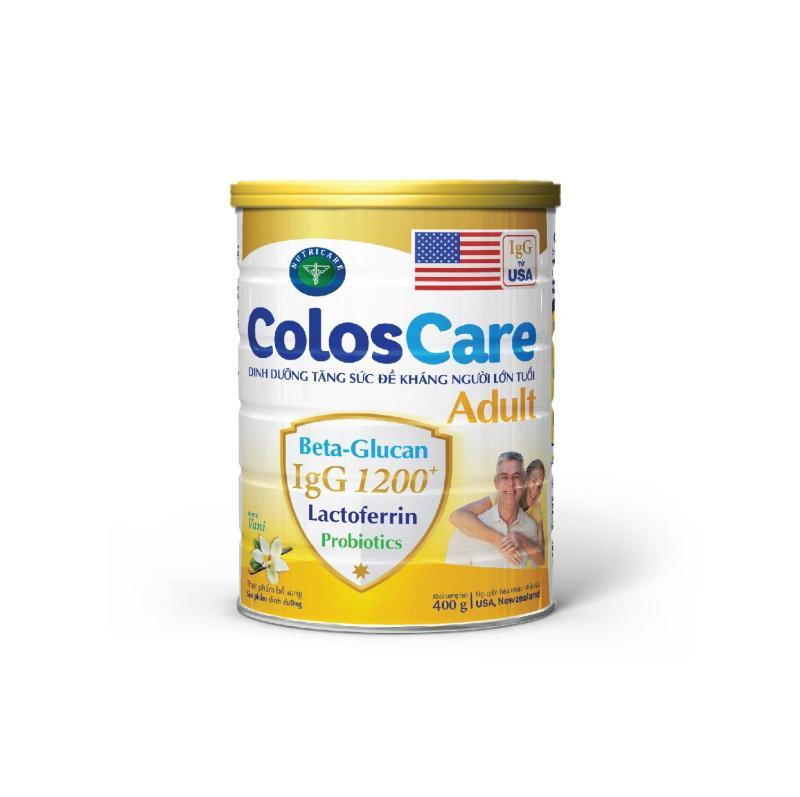 Sữa bột Nutricare ColosCare Adult - tăng cường đề kháng (400g) cao cấp