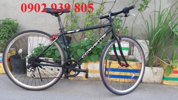 Mua Xe đạp thể thao Touring Nhật bãi CHEVROLET  Khung sườn nhôm Cặp đùm nhôm