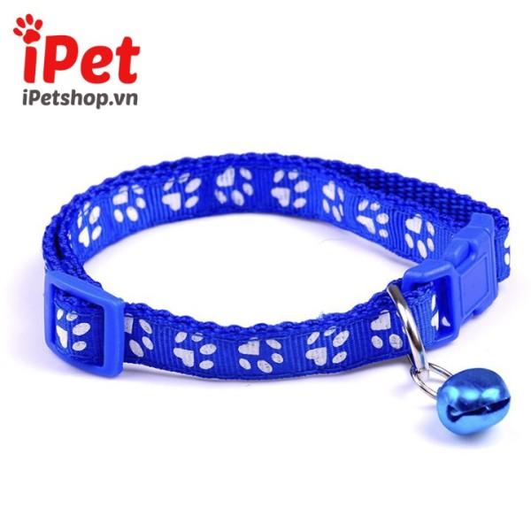 [Lấy mã giảm thêm 30%]Vòng Cổ Họa Tiết Cho Thú Cưng Chó Mèo Con - iPet Shop