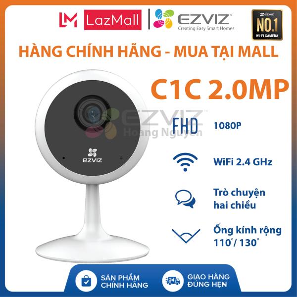 [EZVIZ CHÍNH HÃNG] Camera IP WIFI EZVIZ C1C-B 2.0MP Full HD 1080P. Đàm thoại 2 chiều - CS-C1C-E0-1E2WF Chuẩn nén H.265 - EZVIZ Hoang Nguyen Authorized Store