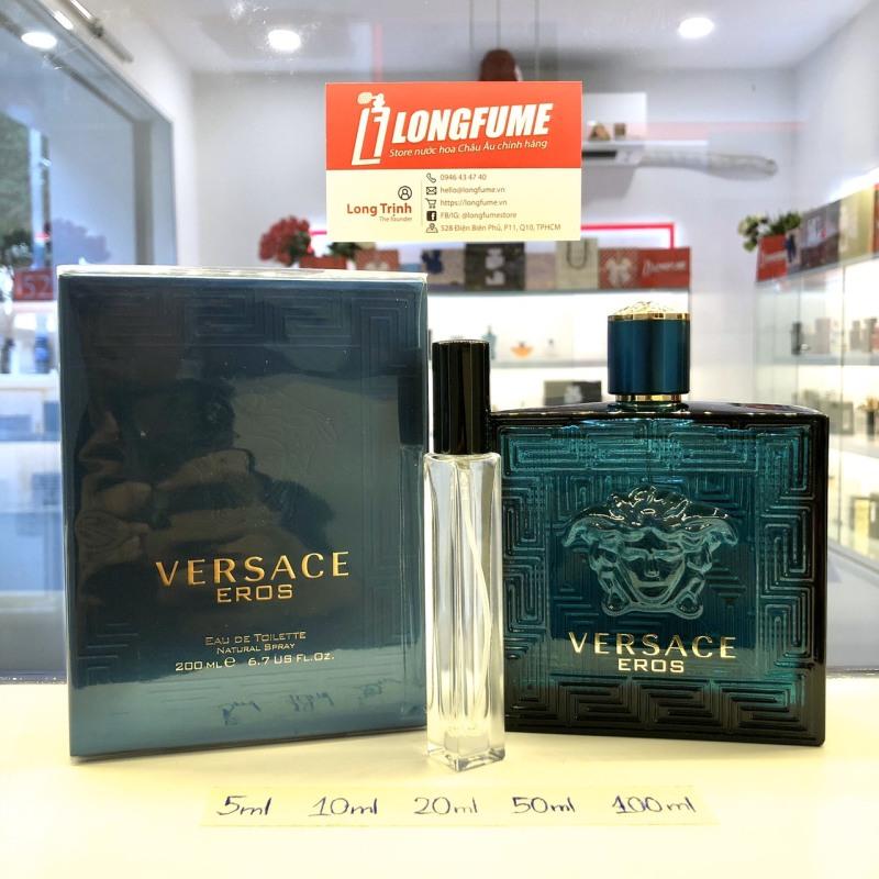 [Có Video] Mẫu thử nước hoa Versace Eros For Man EDT - Longfume Chiết nước hoa 5ml 10ml 20ml 30ml
