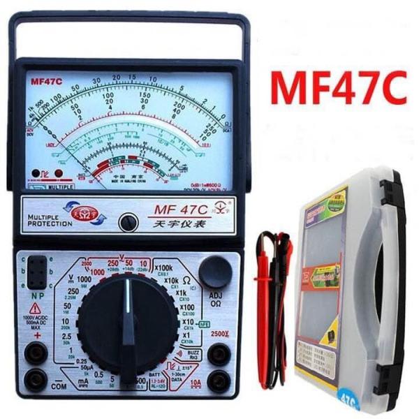 Đồng hồ kim vạn năng MF47C Cao Cấp Chính Hãng